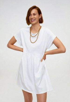 Платье Mango - GISELE. Цвет: белый