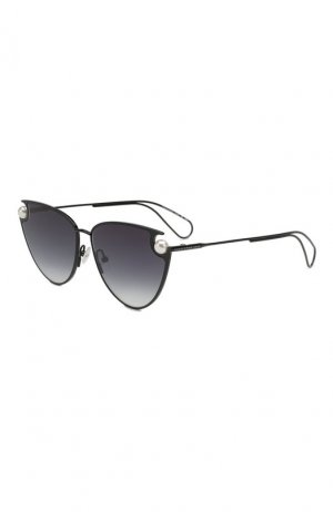 Солнцезащитные очки Christopher Kane. Цвет: чёрный