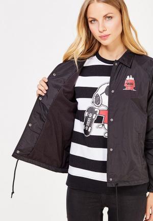 Куртка Vans X PEANUTS. Цвет: черный
