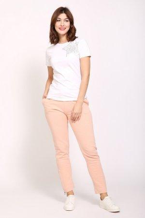 Спортивные брюки Just Valeri. Цвет: бежевый