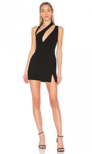 Мини платье florence AQ/AQ. Цвет: черный