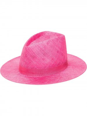 Шляпа Blaine Eugenia Kim. Цвет: розовый