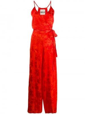 Комбинезон с цветочным принтом Aniye By. Цвет: оранжевый