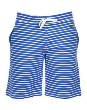Пляжные брюки и шорты MOSCHINO. Цвет: синий