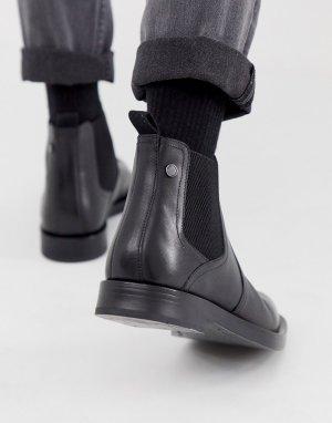 Черные ботинки челси Rossetti-Черный Base London