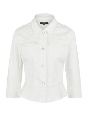 Куртка Comma. Цвет: белый