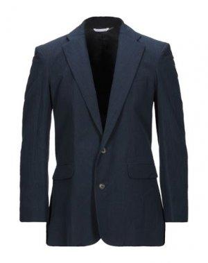 Пиджак ARIES. Цвет: темно-синий