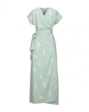 Длинное платье DRY LAKE.. Цвет: светло-зеленый