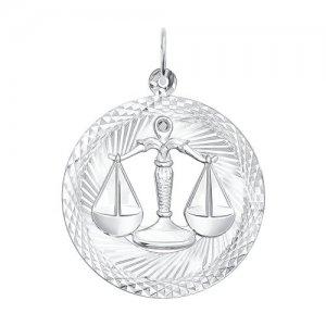 Подвеска «Знак зодиака Весы» SOKOLOV
