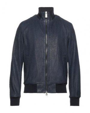 Куртка AGLINI. Цвет: темно-синий