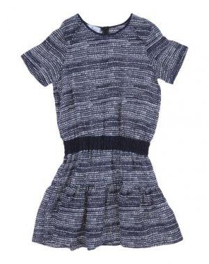 Платье LITTLE REMIX. Цвет: темно-синий
