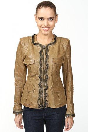 Куртка Benedetta Novi. Цвет: зеленый
