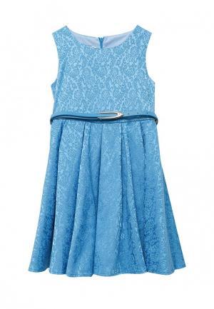 Платье Shened Полина. Цвет: голубой