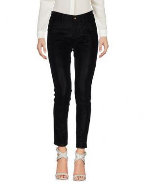 Повседневные брюки DENHAM. Цвет: черный