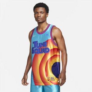 """Мужское джерси Dri-FIT LeBron x Space Jam: A New Legacy """"Tune Squad"""" - Синий Nike"""