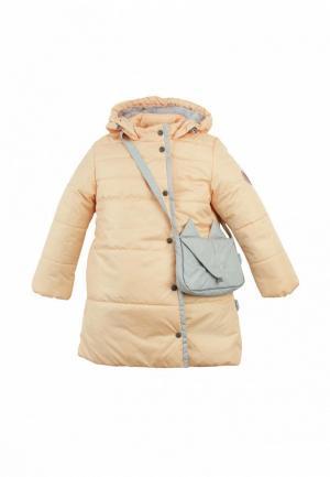 Куртка утепленная Zukka Elly. Цвет: бежевый