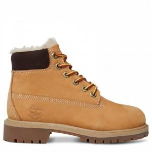 Ботинки 6 Inch Shearling Boot Timberland. Цвет: желтый