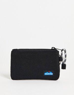 Черный бумажник Kavu Stirling-Черный цвет