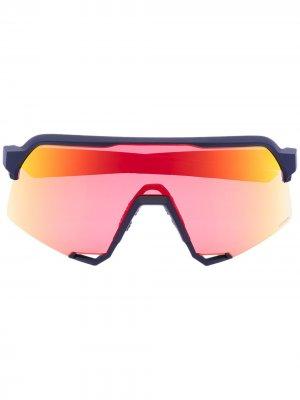 Спортивные солнцезащитные очки S3 100% Eyewear. Цвет: желтый