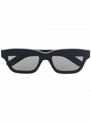 Солнцезащитные очки Milano Retrosuperfuture. Цвет: черный