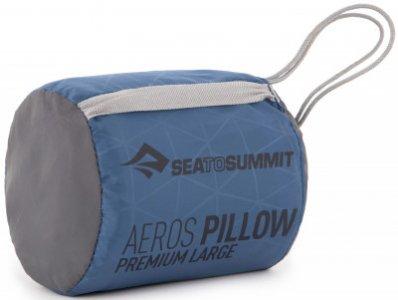 Подушка Aeros Premium SEA TO SUMMIT. Цвет: синий