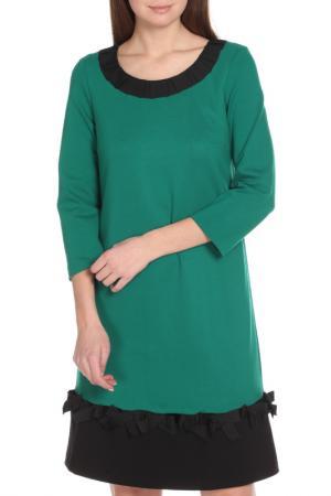 Платье CAMOMILLA ILOVE. Цвет: зеленый