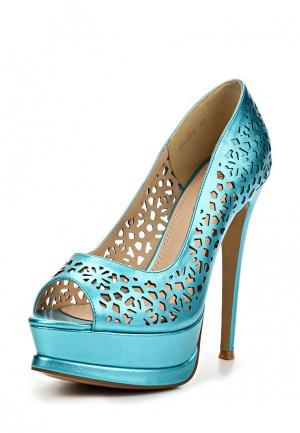 Туфли ARZOmania. Цвет: голубой