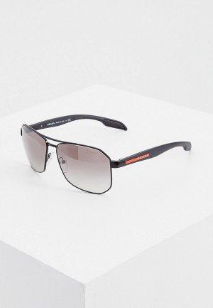 Очки солнцезащитные Prada Linea Rossa PS 51VS 1BO5O0. Цвет: черный