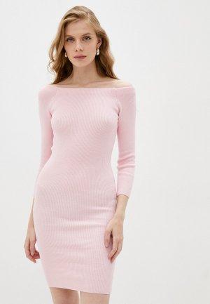 Платье Katya Erokhina Violetta Pink. Цвет: розовый