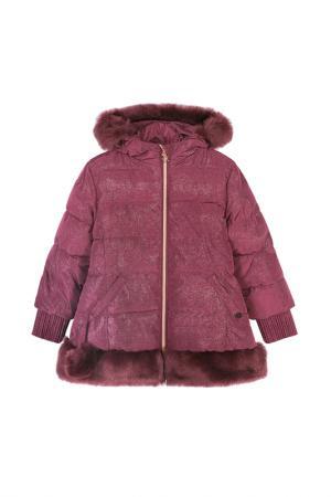 Пальто Coccodrillo. Цвет: бордовый