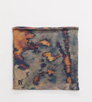 Трикотажный шарф-снуд из джерси с размытым принтом тай-дай Inspired-Зеленый Reclaimed Vintage