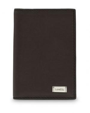 Чехол для документов LANCEL. Цвет: темно-коричневый