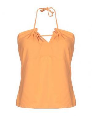 Топ без рукавов BLU BYBLOS. Цвет: оранжевый