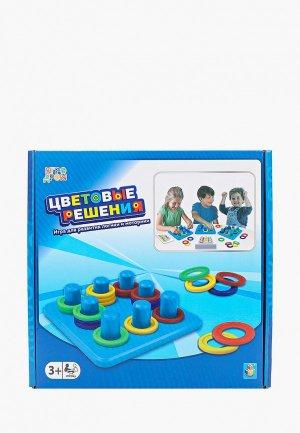 Игра настольная 1Toy Цветовые решения. Цвет: разноцветный