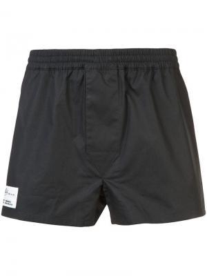 Классические спортивные шорты Off-White. Цвет: черный