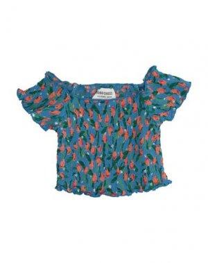 Блузка BOBO CHOSES. Цвет: синий