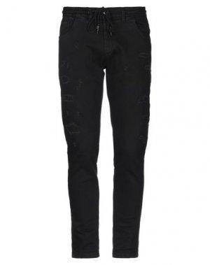 Джинсовые брюки HAMAKI-HO. Цвет: черный