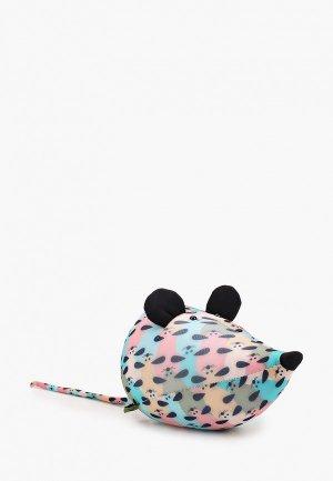 Подушка декоративная Gekoko Киш Мышь. Цвет: разноцветный