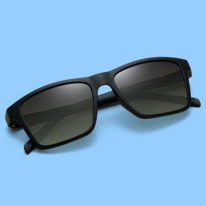 Мужской Поляризованные солнцезащитные очки SHEIN. Цвет: многоцветный