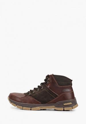 Ботинки Baden. Цвет: коричневый