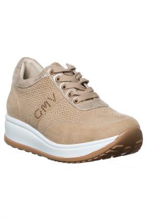 Sneakers GianMarco Venturi. Цвет: beige
