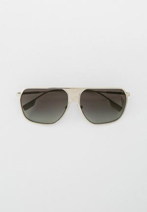 Очки солнцезащитные Burberry BE3120 100511. Цвет: серебряный