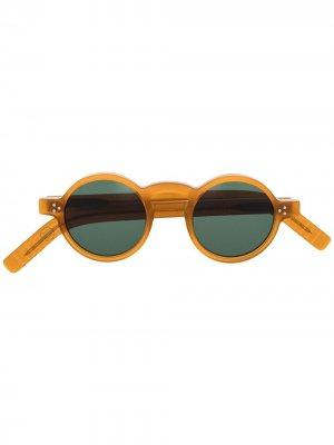 Солнцезащитные очки Freud Lesca. Цвет: оранжевый