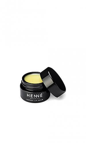 Бальзам для губ luxury Henne Organics. Цвет: none
