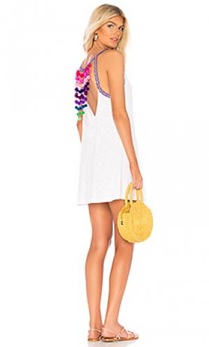 Платье Pitusa. Цвет: белый