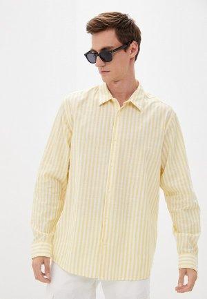 Рубашка Colins Colin's. Цвет: желтый