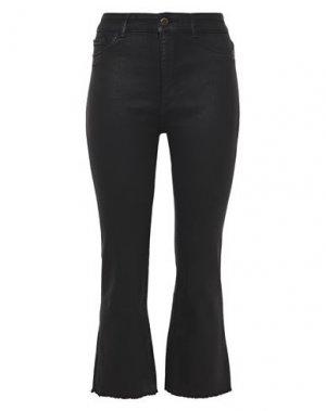 Джинсовые брюки-капри DL1961. Цвет: черный