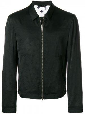 Легкая куртка на молнии Haider Ackermann. Цвет: черный
