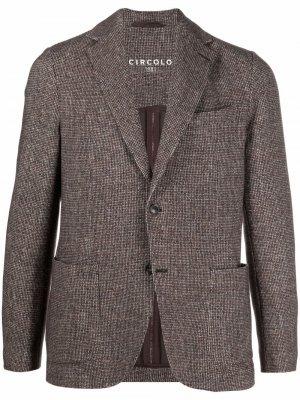 Однобортный пиджак Circolo 1901. Цвет: нейтральные цвета