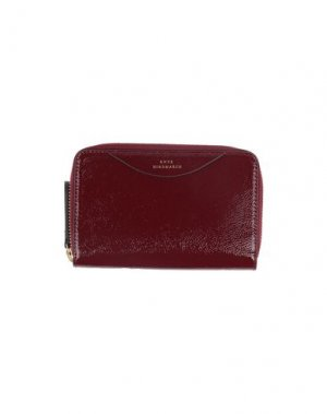 Бумажник ANYA HINDMARCH. Цвет: красно-коричневый